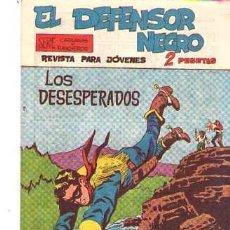 Tebeos: EL DEFENSOR NEGRO (MAGA) Nº 35. Lote 95667395