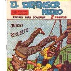 Tebeos: EL DEFENSOR NEGRO (MAGA) Nº 36. Lote 95667471