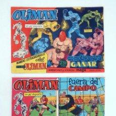 Tebeos: NÚMERO EXTRAORDINARIO DEL CLUB OLIMAN EXTRA. AS DEL DEPORTE 1 Y 2. BUEN ESTADO MAGA. ORIGINAL, 1961. Lote 95688172