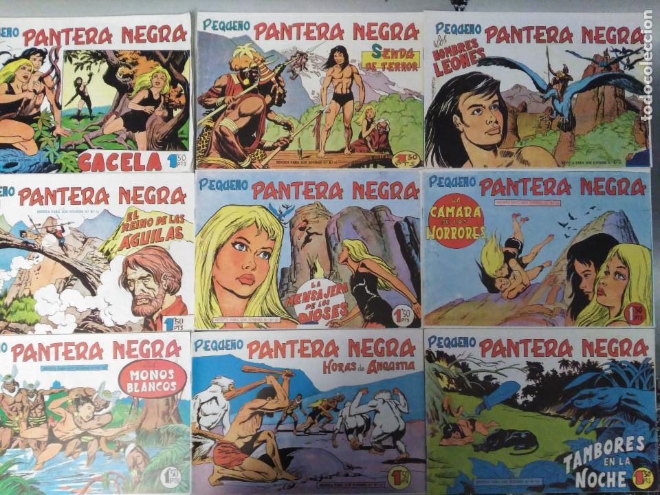 PEQUEÑO PANTERA NEGRA, EDICIÓN EN FACSIMIL, DIVERSOS NÚMEROS DEL 125 AL 308 (AÑO 1960) (Tebeos y Comics - Maga - Otros)