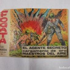 Tebeos: TEBEO - FOGATA - MAGA - Nº 8 - ORIGINAL. EL AGENTE SECRETO CARGAMENTO DE ORO. TDKC16. Lote 46626279