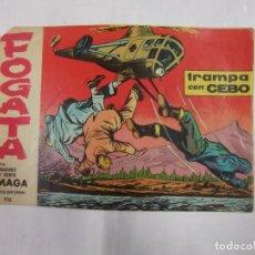Tebeos: TEBEO - FOGATA - MAGA - Nº 13 - ORIGINAL. TRAMPA CON CEBO. TDKC16. Lote 46626401