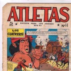 Tebeos: ATLETAS N*14. Lote 98664115