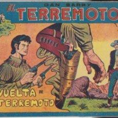 Tebeos: DAN BARRY EL TERREMOTO Nº 68. MAGA 1954. MUY ESCASO.... Lote 99238731