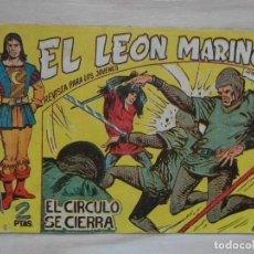Tebeos: EL LEON MARINO. EL CIRCULO SE CIERRA. EPISODIO 7. SERIE GAVILAN. EDITORIAL MAGA. 1961.DIBUJOS GIGARP. Lote 99241847