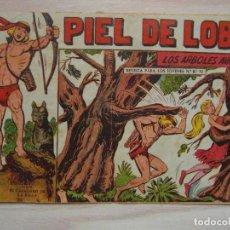 Tebeos: LOS ARBOLES AVANZAN. PIEL DE LOBO Nº 76. SERIE EL CABALLERO DE LA ROSA. MAGA.DIBUJA M. GAGO. 1960. Lote 99248411