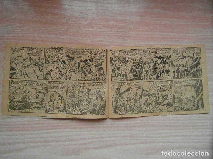 Tebeos: Los arboles avanzan. Piel de lobo nº 76. Serie el caballero de la rosa. Maga.Dibuja M. Gago. 1960 - Foto 3 - 99248411