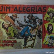 Tebeos: UNA MUCHACHA VALIENTE. Nº 58 DE JIM ALEGRIAS.SERIE EL GAVILAN.EDITORIAL MAGA.1961.DIBUJA M. GAGO. Lote 99250327