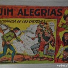 Tebeos: LA SORPRESA DE LOS CHEYENES.Nº 29 DE JIM ALEGRIAS.SERIE EL GAVILAN.EDITORIAL MAGA.1960.DIBUJA M. GAG. Lote 99250507