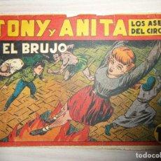 Tebeos: EL BRUJO. Nº 29 DE TONY Y ANITA. LOS ASES DEL CIRCO. EDITORIAL MAGA.DIBUJA MIGUEL QUESADA. 1953. Lote 99250707