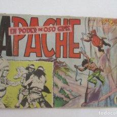 Tebeos: CÓMIC - APACHE - EN PODER DE OSO GRIS - ED MAGA - ORIGINAL - AÑO 1958. Lote 99505987