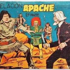 Tebeos: TEBEO APACHE EN REVELACION 2º PARTE, AÑO 1958, EDITORIAL MAGA. Lote 100110923