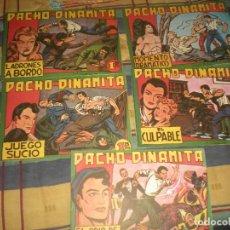 Tebeos: LOTE DE 5 TEBEOS DE PANCHO DINAMITA (DIFERENTES) . Lote 100759079