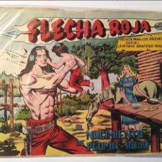 Tebeos: FLECHA ROJA Nº 79 (ULTIMO DE LA COLECCION), MAGA 1962. Lote 100907767
