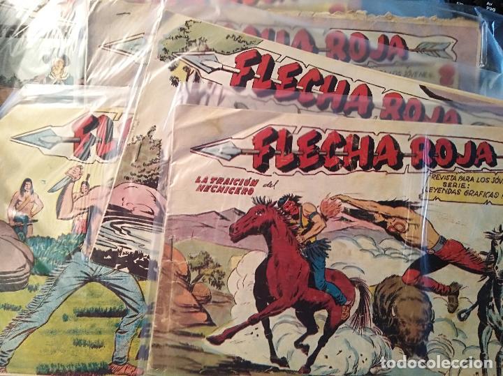 FLECHA ROJA, MAGA 1962, NUMEROS SUELTOS (Tebeos y Comics - Maga - Flecha Roja)