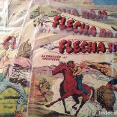 Tebeos: FLECHA ROJA, MAGA 1962, NUMEROS SUELTOS. Lote 100909303