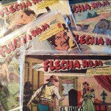 Tebeos: FLECHA ROJA, MAGA 1963, NUMEROS SUELTOS. Lote 100910015