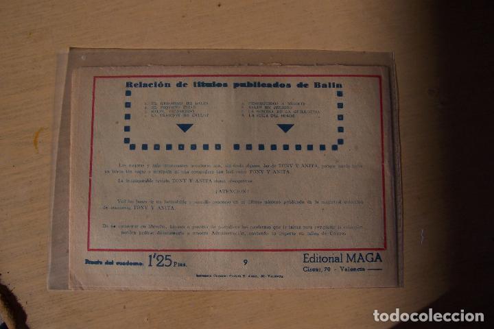 Tebeos: Maga,- un gran lote de balin fotos unitarias INCLUIDO EL ALMANAQUE - Foto 18 - 101062839