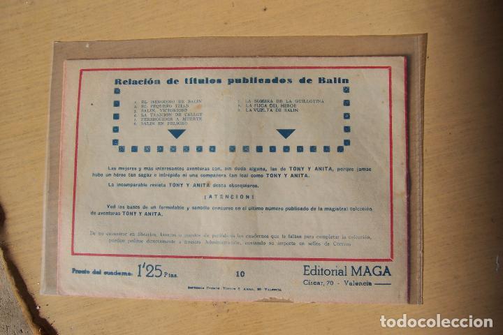 Tebeos: Maga,- un gran lote de balin fotos unitarias INCLUIDO EL ALMANAQUE - Foto 20 - 101062839