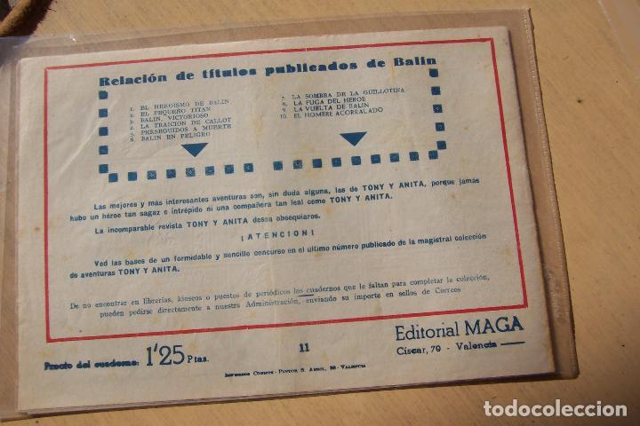 Tebeos: Maga,- un gran lote de balin fotos unitarias INCLUIDO EL ALMANAQUE - Foto 22 - 101062839