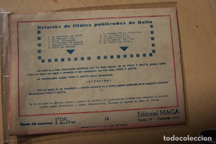 Tebeos: Maga,- un gran lote de balin fotos unitarias INCLUIDO EL ALMANAQUE - Foto 24 - 101062839