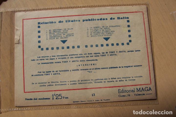Tebeos: Maga,- un gran lote de balin fotos unitarias INCLUIDO EL ALMANAQUE - Foto 26 - 101062839