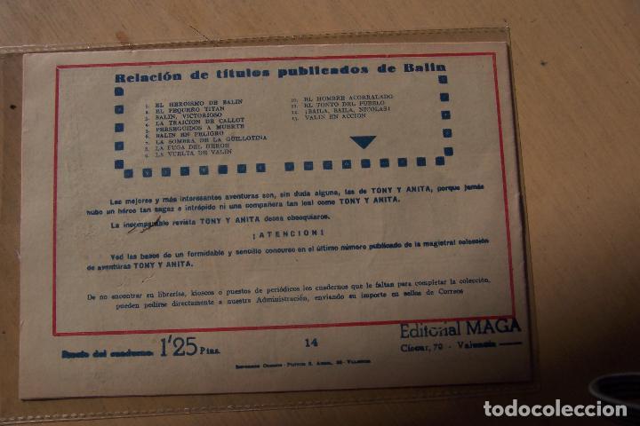 Tebeos: Maga,- un gran lote de balin fotos unitarias INCLUIDO EL ALMANAQUE - Foto 28 - 101062839