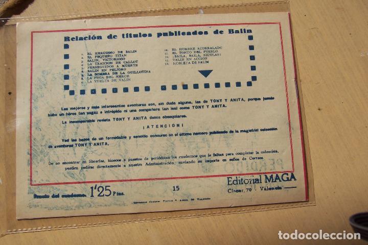 Tebeos: Maga,- un gran lote de balin fotos unitarias INCLUIDO EL ALMANAQUE - Foto 30 - 101062839