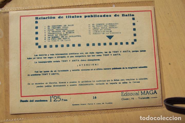 Tebeos: Maga,- un gran lote de balin fotos unitarias INCLUIDO EL ALMANAQUE - Foto 32 - 101062839