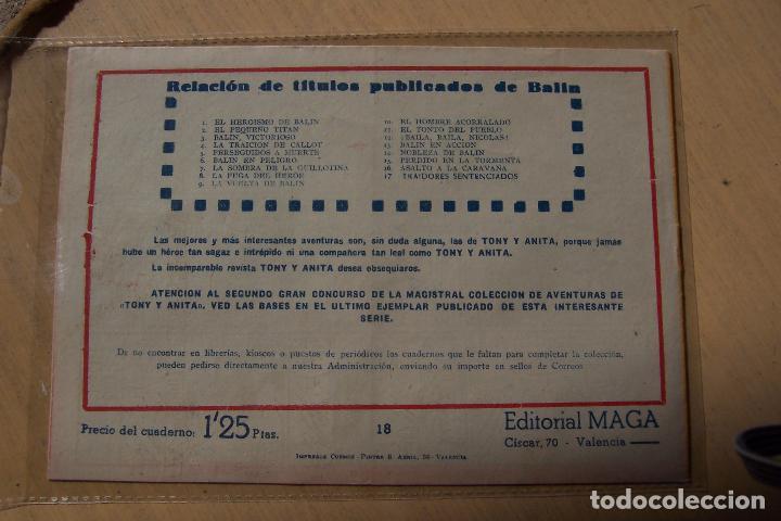 Tebeos: Maga,- un gran lote de balin fotos unitarias INCLUIDO EL ALMANAQUE - Foto 36 - 101062839