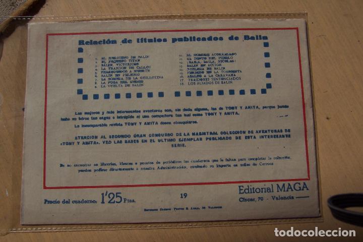 Tebeos: Maga,- un gran lote de balin fotos unitarias INCLUIDO EL ALMANAQUE - Foto 38 - 101062839