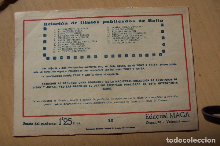 Tebeos: Maga,- un gran lote de balin fotos unitarias INCLUIDO EL ALMANAQUE - Foto 40 - 101062839