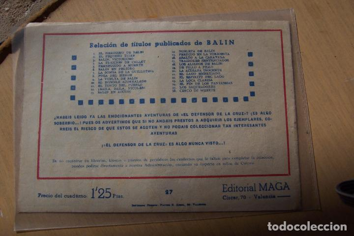 Tebeos: Maga,- un gran lote de balin fotos unitarias INCLUIDO EL ALMANAQUE - Foto 50 - 101062839