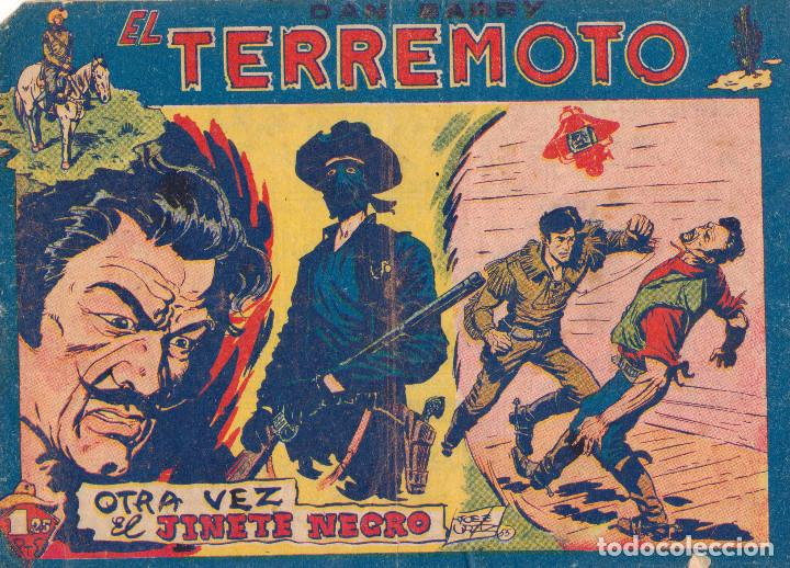 ORIGINAL-DAN BARRY EL TERREMOTO. NÚMERO 32 (Tebeos y Comics - Maga - Dan Barry)
