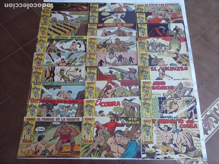 RAYO DE LA SELVA ORIGINAL COMPLETA 1 AL 83, 1960 MAGA,MUY BIEN CONSERVADOS (Tebeos y Comics - Maga - Rayo de la Selva)