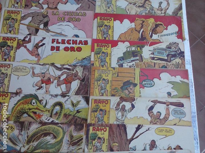 Tebeos: RAYO DE LA SELVA ORIGINAL COMPLETA 1 AL 83, 1960 MAGA,MUY BIEN CONSERVADOS - Foto 4 - 101163943
