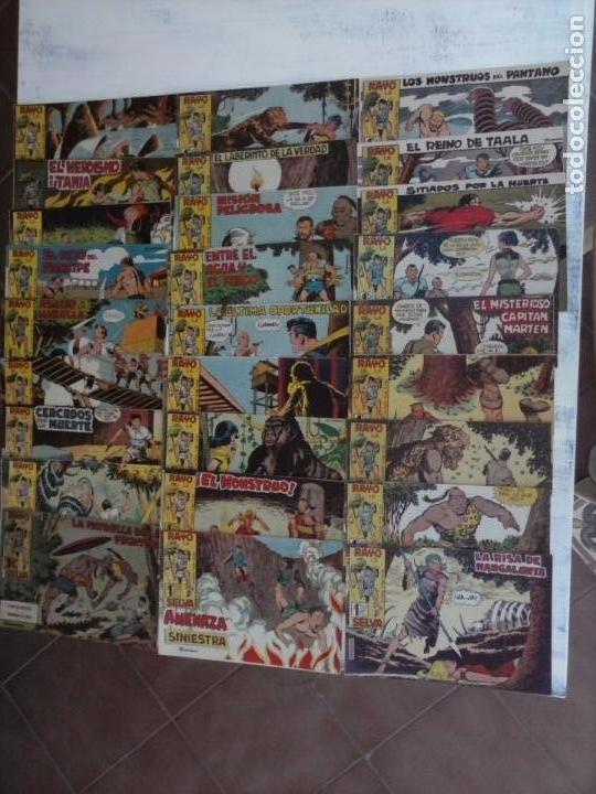 Tebeos: RAYO DE LA SELVA ORIGINAL COMPLETA 1 AL 83, 1960 MAGA,MUY BIEN CONSERVADOS - Foto 10 - 101163943