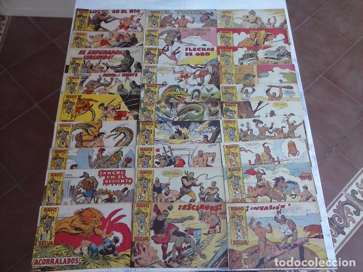 Tebeos: RAYO DE LA SELVA ORIGINAL COMPLETA 1 AL 83, 1960 MAGA,MUY BIEN CONSERVADOS - Foto 13 - 101163943
