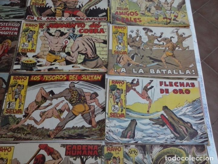 Tebeos: RAYO DE LA SELVA ORIGINAL COMPLETA 1 AL 83, 1960 MAGA,MUY BIEN CONSERVADOS - Foto 15 - 101163943