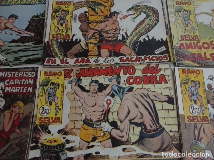 Tebeos: RAYO DE LA SELVA ORIGINAL COMPLETA 1 AL 83, 1960 MAGA,MUY BIEN CONSERVADOS - Foto 16 - 101163943