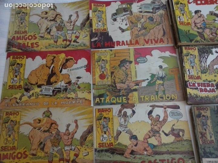 Tebeos: RAYO DE LA SELVA ORIGINAL COMPLETA 1 AL 83, 1960 MAGA,MUY BIEN CONSERVADOS - Foto 17 - 101163943