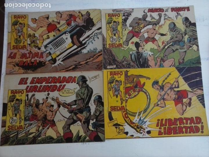 Tebeos: RAYO DE LA SELVA ORIGINAL COMPLETA 1 AL 83, 1960 MAGA,MUY BIEN CONSERVADOS - Foto 21 - 101163943