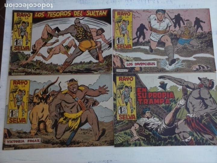 Tebeos: RAYO DE LA SELVA ORIGINAL COMPLETA 1 AL 83, 1960 MAGA,MUY BIEN CONSERVADOS - Foto 25 - 101163943