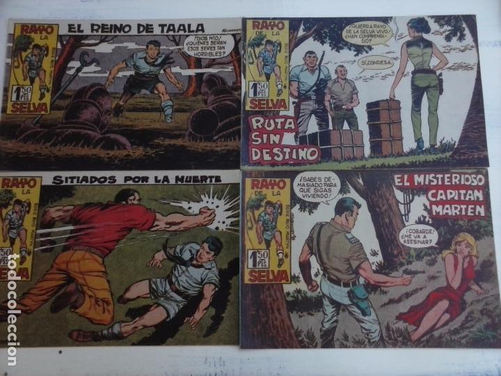 Tebeos: RAYO DE LA SELVA ORIGINAL COMPLETA 1 AL 83, 1960 MAGA,MUY BIEN CONSERVADOS - Foto 30 - 101163943