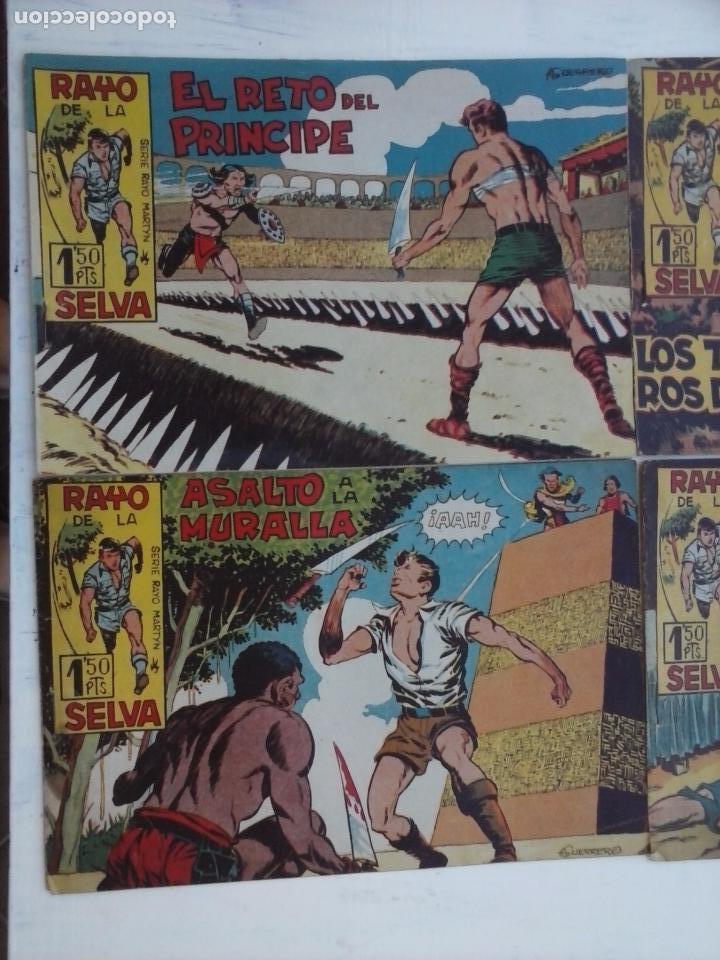 Tebeos: RAYO DE LA SELVA ORIGINAL COMPLETA 1 AL 83, 1960 MAGA,MUY BIEN CONSERVADOS - Foto 37 - 101163943
