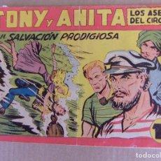 Tebeos: TONY Y ANITA Nº 141 EDITORIAL MAGA 1953. Lote 101365547