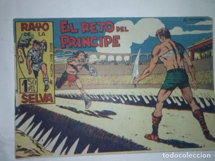 RAYO DE LA SELVA- Nº 6 - EL RETO DEL PRÍNCIPE - GRAN ANTONIO GUERRERO- CORRECTO-1960- LEAN-7208 (Tebeos y Comics - Maga - Rayo de la Selva)