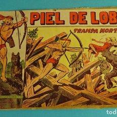 Tebeos: TRAMPA MORTAL. PIEL DE LOBO Nº 82. EDITORIAL MAGA. COMPLETO Y ORIGINAL. ESTADO MUY LEÍDO. Lote 101565911