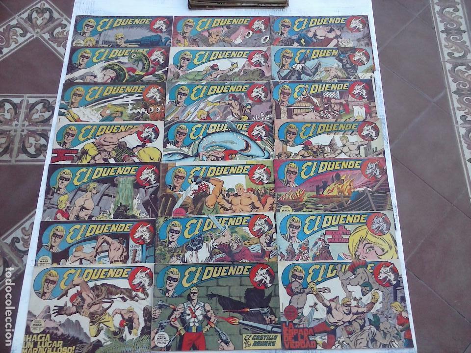 EL DUENDE ORIGINAL COMPLETA 1 AL 60 MUY BUEN ESTADO, VER PORTADAS (Tebeos y Comics - Maga - Otros)