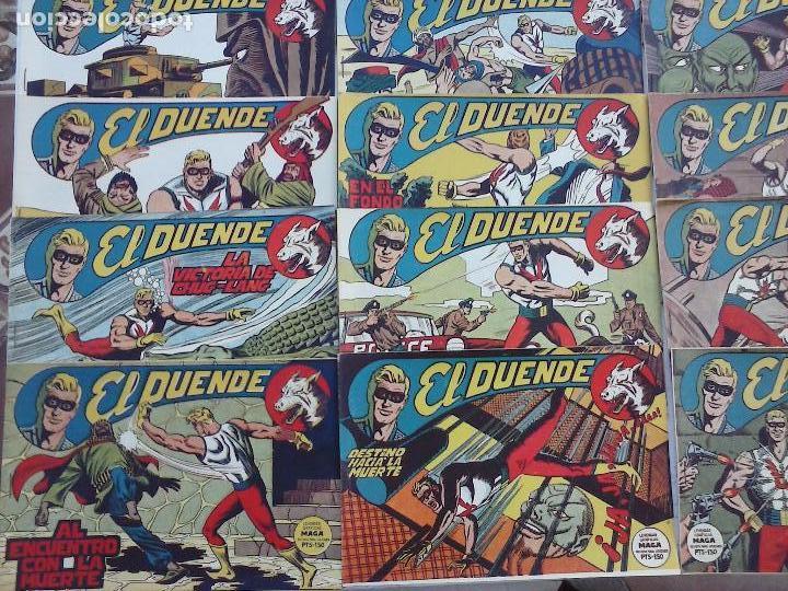 Tebeos: EL DUENDE ORIGINAL COMPLETA 1 AL 60 MUY BUEN ESTADO, VER PORTADAS - Foto 3 - 101571419